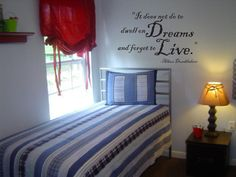 Harry Potter Wall Decal: Dumbledore Quote 022-22