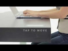 THIS IS BRILLIANT: The Stir Kinetic Desk [Video]