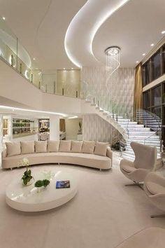 Home Room Design, Dream Home Design, Modern House Design, Home Interior Design, Luxury Kitchen Design, Dream House Interior, Luxury Homes Dream Houses, Modern Mansion Interior, Luxury Homes Interior