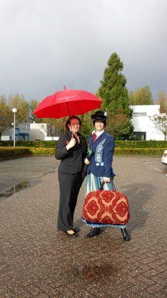 Mary Poppins van #TeamMDG en Daphne van #HotelMijdrecht Voor de Winterse Weken van Hotel Mijdrecht Marickenland. http://www.hotelmijdrecht.nl/winterseweken Fotografie: Anouschka Schaffers.