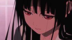 地獄少女 Hell Girl じごくしょうじょ Manga Anime Girl, Anime Art, Enma Ai, Hell Girl, Cute Profile Pictures, I Love Anime, The Villain, Otaku, Aesthetic Anime