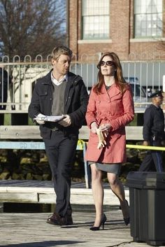 Still of Dana Delany and Nic Bishop in Body of Proof (2011)