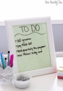 DIY Teen Room Decor Ideas for Girls   Dry Erase Board and Desktop Tray   Cool Bedroom Decor, Wall Art & Signs, Crafts, Bedding, Fun Do It Yourself Projects and Room Ideas for Small Spaces http://diyprojectsforteens.com/diy-teen-bedroom-ideas-girls-rooms