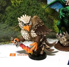 Tooth and Sword - Griffon by CognitivePainting