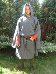 Travelling robe TR3 » 9th - 13th century outerwear » Medieval On ...