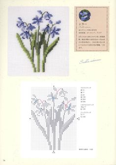 Lavender | Flowers [Pattern] [Spring - Cross Stitch]
