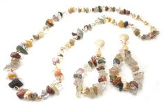 Conjunto de Pedras Brasileira Multicoloridas