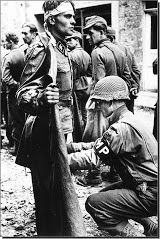 American Soldiers Brutalised Waffen SS Prisoners....