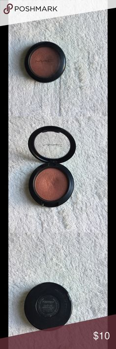"""MAC blush MAC sheer tone shimmer blush in """"peachtwist"""". It's been used a few times but still has a lot of product left to use MAC Cosmetics Makeup Blush"""