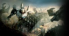 Pin 108:   In order to fight monsters we created monsters of our own .... man and machine becomes one. via A Thousand Suns: The Struggle of Religious Reformations (Blog) | Pinned Time:20151218 23:13 Taipei Time | #Concept #Breadcrumb