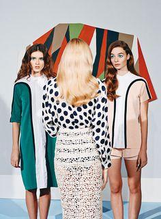 Women on the Verge | PAPER Magazine Spring 2014 | Natalie Keyser, Katy and Rachel by LA based creative duo JUCO #juco #papermagazine #womenontheverge