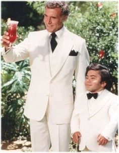 """Ricardo Montalban and Herve Villechaize, """"Fantasy Island"""". Great Tv Shows, Old Tv Shows, Movies And Tv Shows, Nostalgia, Great Memories, Childhood Memories, Cinema, Vintage Tv, Classic Tv"""