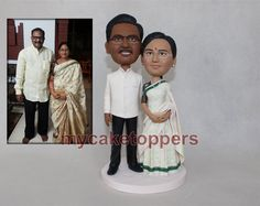 wedding cake toppers bride and groom anniversary by dealeasynet, $120.00
