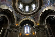 Dome of Castle Howard, England.