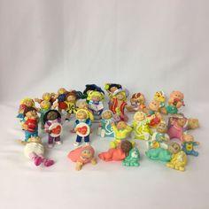 VTG 1980s Cabbage Patch Kids PVC Mini Figures Figurines Minis Lot of 28 KOOSAS #AppalachianArtworkInc #Dolls