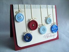 I love buttons, and this is such a cute & brilliant way to use them!