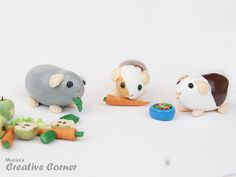 Clay guinea pigs