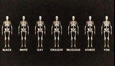 Claudia Pozzobon inspiration: black, white, gay, straight, religious, atheist, you
