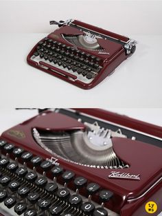 The legendary 1950's Groma Kolibri typewriter. Made is East Germany.