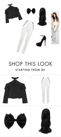 """""""Classic Camila Cabello Look"""" by todothat ❤ liked on Polyvore featuring Alice + Olivia, Tommy Hilfiger, Giuseppe Zanotti, look, fifthharmony, CAMILA, 5H and Camilalook"""