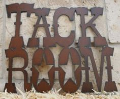 $24.99 #Horse #Tack #Rustic metal sign  made in USA . ..   http://stores.ebay.com/Cowgirl-Oasis  free shipping 30 day returns