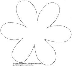 Free Printable Flower Patterns for Scrapbooking - Flower 2