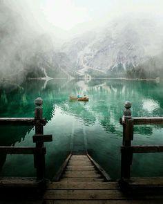 Lake Braies, South Tyrol Italy