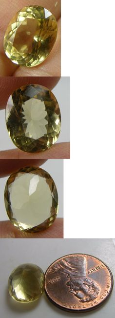 Beryl 110789: 5.25Ct Or 1.05G Brazil Natural Clean Yellow Beryl Heliodor Oval Facet Gemstone BUY IT NOW ONLY: $175.95