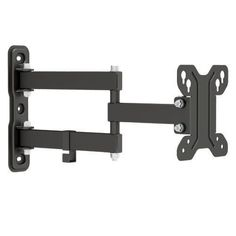 The popular model 113 is designed to fit any 13''-27'' Flat Panel TV up to 30kgs/66lbs. Simple construction allow easy installation. Adjustable swivel arm and tilting VESA plate provides maximum vi...