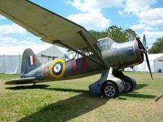 """Lysander This is a WWII British plane that was famous for dropping """"spies"""" into France behind enemy lines... Snapped this one at Sun-N-Fun a couple of years ago- Image by Jeff Smith"""