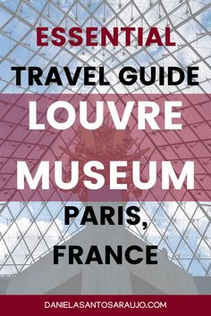 "Are you planning a visit to the Louvre Museum in Paris? Then you really have to consult this ""Louvre Museum Travel Guide"", with all the essential information on times, prices and accesses, as well as the best tips and suggestions for a more optimized visit. You can also find a list with recommendations on the must-see works of the Louvre, including a brief description, photos and where they are located."