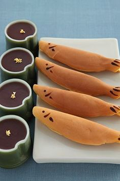 (127) Mizu yokan (sweet bean jelly) and fish-shaped Japanese confectionery | Foodism Ⅲ | Pinterest