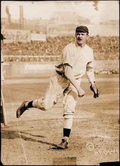 Christy Mathewson, Giants, Polo Grounds, 1908
