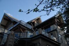 Luxury Ski Chalet ....windows and doors by Synergy