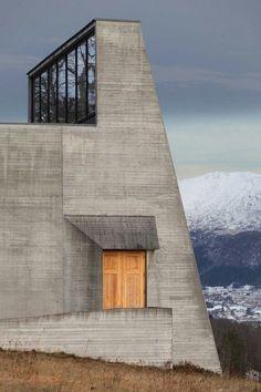 Ivar Aasen Centre Sverre Fehn - #architecture