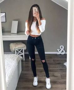 Summer Outfits Women 30s, Simple Summer Outfits, Casual Summer Outfits, Spring Outfits, Trendy Outfits, Cool Outfits, Amazing Outfits, Cute College Outfits, Winter Outfits
