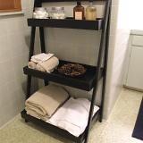 Also good idea for bathroom storage
