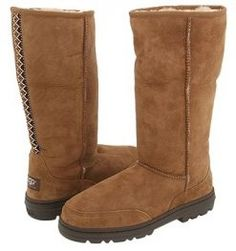 Ugg 5245 Ultra Tall Boots Chestnut Use The High Quality Twin Faced Sheepskin As