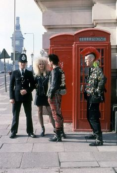 London punks. There were a few of these knocking about in the 80s