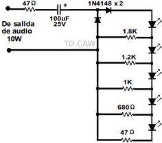 amplificadores de audio  amplificador transistorizado de