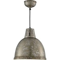 Searchlight 5931 Rustic Brown Single Lamp Industrial Dome Pendant Ceil