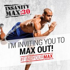 Are you ready for Shaun T's new 30 minute total body workouts?? They have Tabata and HIIT training - cannot wait!! http://soreyfitness.com/beachbody-2/insanity-max-30/