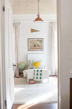bright and happy little boy room inspiration