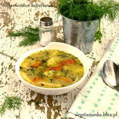 zupa owsiano- koperkowa