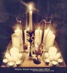 Witchy Words: Samhain Altar 2014
