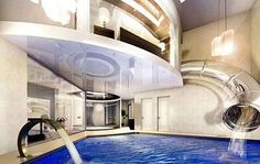 OMG, YEEESSSS..... it's a water slide attached to your master bedroom. WOOT!