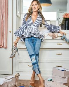 Sarah Jessica Parker can be your personal shopper. - Sarah Jessica Parker can be your personal shopper. Sarah Jessica Parker, Mode Outfits, Casual Outfits, Fashion Outfits, Womens Fashion, Fashion Ideas, Hipster Outfits, Fashion 2018, Fashion Trends
