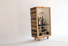 MARTIN VIECENS Wine Rack, Magazine Rack, Cabinet, Storage, Furniture, Home Decor, Wood, Clothes Stand, Purse Storage
