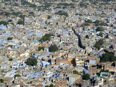 View of Jodphur from Fort, Jodphur, Rajasthan