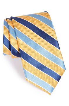 Men's John W. Nordstrom 'Newman' Stripe Silk Tie
